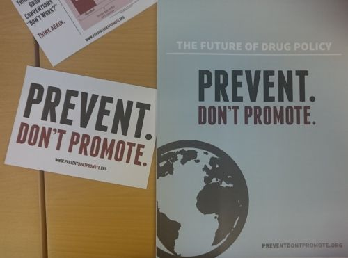 Read more: Full Support to the Drug Control Conventions at the UN