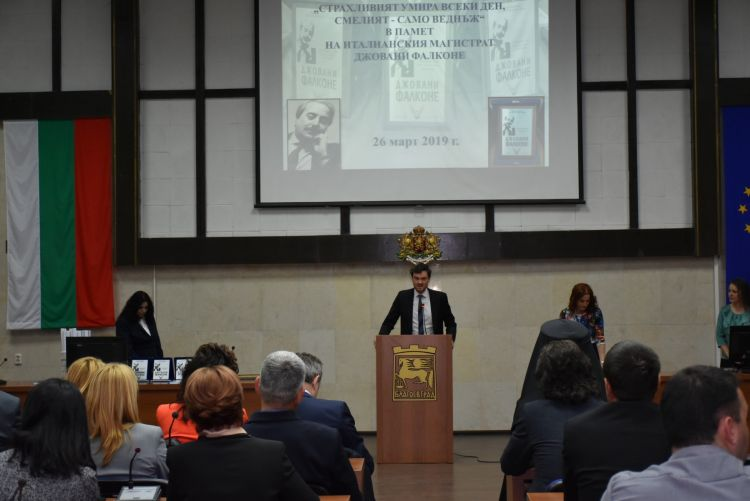 Read more: ECAD speaks at award ceremony for anti-mafia in Bulgaria